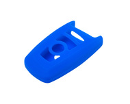 Agency Power Blue Rubber Key FOB Protection Case BMW 13-14