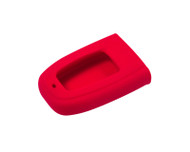 Agency Power Red Rubber Key FOB Protection Case Audi B8 A4 A5 S5 A8 S8 A6 S6 RS4 RS5 10-14