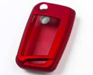 Agency Power Metallic Red  Plastic Key FOB Protection Case Volkswagen Golf MK7 Golf GTI 14-15  Jetta 15+