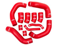 Agency Power 12pc Red Silicone Boost Hose Kit Nissan GTR R35 08-15