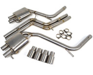 Agency Power Titanium Exhaust System Audi S5 07-12