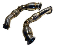 Agency Power Downpipes BMW X5M X6M xDrive50i 09-12