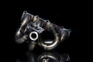 Blackworks Racing T3 Top Mount Turbo Manifold Hyundai Genesis 2.0T Dual W/38mm Wastegate Flange