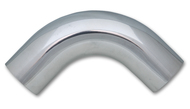 "2"" O.D. Aluminum 90 Degree Bend - Polished"