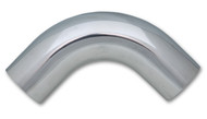 "2.25"" O.D. Aluminum 90 Degree Bend - Polished"