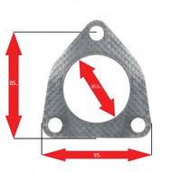 Apexi Triangle Muffler Gasket, 3-Bolt (Acura, Honda)