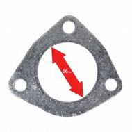 Apexi Triangle Muffler/Downpipe Gasket, 3-Bolt (Toyota)