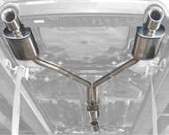 Stillen Cat Back Exhaust 07- 12 Nissan Altima 3.5L Sedan