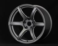 GramLights Matte Graphite 57C6 Wheel 18x9.5 5x114.3 25mm