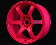 GramLights Fluorescent Pink 57D Wheel 18x9.5 5-114.3 22mm