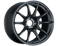 SSR GTX01 Wheel Flat Black 18x9.5 5x114.3 15mm