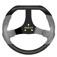 Sparco Steering Wheel -  KART F320U BLACK/GREY