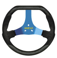 Sparco Steering Wheel -  KART F320U BLACK/BLUE