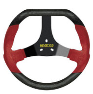 Sparco Steering Wheel -  KART F320U BLACK/RED