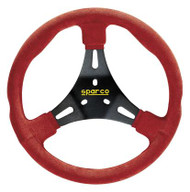 Sparco Steering Wheel -  KART K300 RED