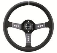 Sparco Steering Wheel -  L777 LEATHER BLACK