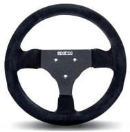 Sparco Steering Wheel -  285 SUEDE BLACK