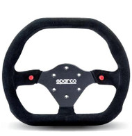 Sparco Steering Wheel -  310X260 SUEDE BLACK