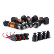 Grams Performance Mitsubishi Evo 1-9 1000cc Fuel Injectors (Set of 4)