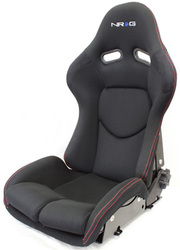 NRG Reclinable FRP Bucket Seat (Pair)