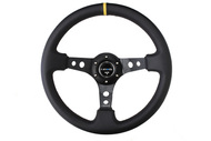 "NRG 350mm Sport Steering Wheel (3"" Deep) - Various Colors"