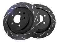 EBC Ultimax USR Slotted Rotors (Rear) - Nissan 240SX S13/S14