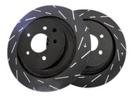 EBC Ultimax USR Slotted Rotors (Rear) - Nissan 240SX Z32 Brakes