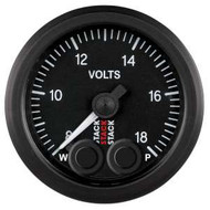 Stack 52mm Pro-Control Gauge - Battery Voltage