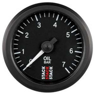 Stack 52mm Professional Stepper Motor Analogue Gauge - Oil Pressure