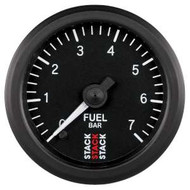 Stack 52mm Professional Stepper Motor Analogue Gauge - Fuel Pressure