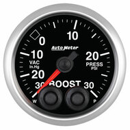 Auto Meter Elite Series 52mm Gauges - Boost Pressure