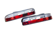 Circuit Sports 2 Piece Clear Rear Tail Light Set - S13 Silvia/Coupe 89-93