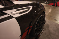 Seibon 10mm Wide Carbon Front Fenders - Scion FR-S / Subaru BRZ