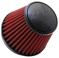 "AEM AIR FILTER; 6"" X 6"" DRYFLOW"