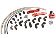 Aeromotive 04-06 2.5L Side Feed Injector Subaru STI Rail kit