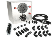 Aeromotive Kit, Back (Eliminator Stelth Fuel System, 6 Gal, and plumbing), 2010 Ford Cobra Jet