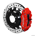 Wilwood Forged Narrow Superlite 4R Big Brake Rear Brake Kit For OE Parking Brake - Scion FR-S (BRZ, FT86) 12+