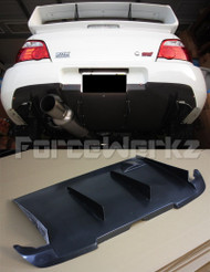 Forcewerkz HKS Style Rear Diffuser for Subaru Impreza '02-'07