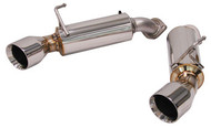 Tanabe Medallion Touring Dual Muffler Axleback Exhaust for G37 Coupe '08-'13