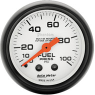 Autometer Phantom 0-100 psi Fuel Pressure Gauge
