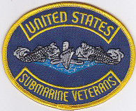 "9"" USSVI PATCH FOR JACKEST AND VESTS SEW ON"
