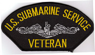 US Submarine Service Veteran patch