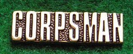 "Corpsman 1"" Gold-Toned Pin"