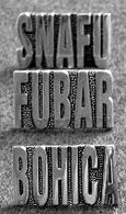SNAFU, BOHICA, or FUBAR Gold-Toned Pins
