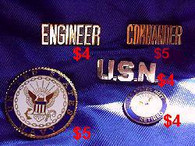 Small USN Pin
