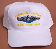 Submarine Veteran: Pride Runs Deep Ballcaps