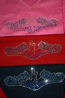 Crystal Dolphin Shirts V Neck, 3/4 sleeve