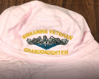 toddler bucket hat, submarine veteran granddaughter Subvet family hats