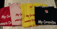 Grandpa's Qualified Children's Shirts