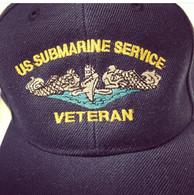 US Submarine Service Veteran Ballcap